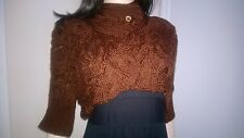 Knitted Cabled Bolero