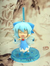 Japanese Pink Company Touhou Project Vol.1 Cirno Eyes Closed Figure Phone Strap