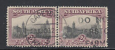 South Africa Sc 26 used 1927 2p Government Buildings in Pretoria, perf 14 VF
