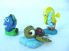 Finding Nemo lot~ Disney Pvc Caketopper set of 3~ Turtle~