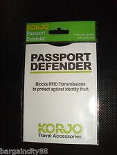 KORJO! Smart Credit Card/Passport Defender-anti RFID signals scan identity theft