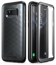 Samsung Galaxy S8 Plus Case Full-body Cover w/ Built-in Screen Protector Black