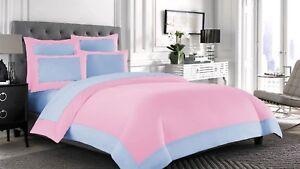 100% Egyptian Cotton 1000 TC 1 PC Designer Reversible Duvet Cover King/Calking