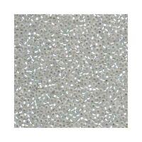 Miyuki Seed Beads 11/0 Matte Silver Lined Crystal 11-1F Glass 23g Round Size 11
