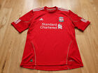 Mens adidas Liverpool Home football shirt 2010 - 2012 Size L