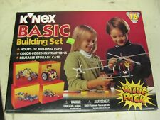 K'nex Basic Building Set 16 Models # 32001 Made in Usa New In Box