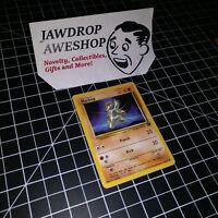 MACHOP TEAM ROCKET SET (59/82) POKEMON CARD EXCELLENT+CONDITION w/ TOPLOADER