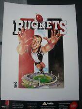 Poster 1990s AFL & Australian Rules Football Memorabilia