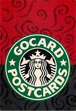 Gocard's Real Postcards Starbucks Logo Advertisement Postcard 6x4""