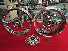 2016 hayabusa chrome oem wheels with abs brake system factory wheels exchange