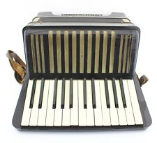 Akkordeon Hohner Student III (3)  Vintage Piano accordion schwarz 24 Bässe Bass