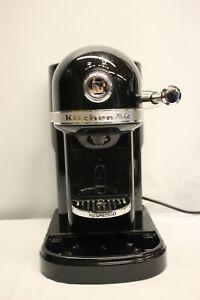 KITCHENAID ARTISAN 5KES0503B0B NESPRESSO COFFEE MACHINE READ DESCRIPTION
