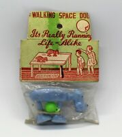 Vintage Walking Space Dog Dime Store Toy Original Package Hong Kong 1960's