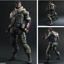 Play Arts Kai Metal Gear Solid V The Phantom Pain Venom Snake Action Figure NIB