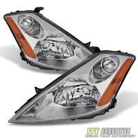For 2003 2004 2005 2006 2007 Murano Headlights Headlamps Halogen Type Left+Right