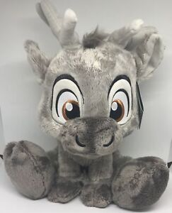 """Disney Parks Frozen Sven Big Feet Plush 10"""" New with Tags"""