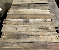 Box Of Reclaimed Wood 21-24 In Lumber Craft Wood Rustic Decor DIY wedding Signs