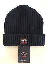 NEW Paul & Shark Winter Hat Capello Cap Beanie BLUE NAVY