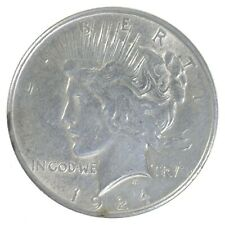 Early - 1924 - Peace Silver Dollar - 90% US Coin *921