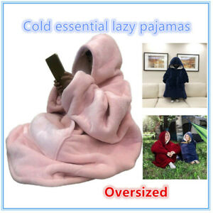 Hot Wearable Blanket Snuggle Hoody Blanket Sweatshirt for Adult and Child, Super