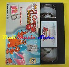film VHS cartonata ESPLORANDO IL CORPO UMANO La respirazione 30 min (F38) no dvd