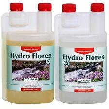 Canna Hydro Flores A+B 2x1Lt Fertilizzanti Fioritura per Coltivazione Idroponica
