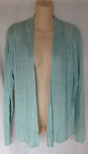 EILEEN FISHER RIBBED LINEN DELAVE STRAIGHT CARDIGAN XL