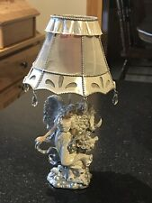 Home Interiors Angel Votive Candle Lamp