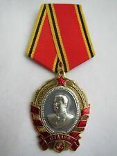 """POSTSOVIET RUSSIAN AWARD MEDAL BADGE  """"ORDER OF STALIN"""" UMALATOVA.  USSR"""