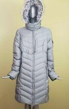 Eddie Bauer Sun Valey Womens Grey Silver Winter Down Coat (M no Size tag)