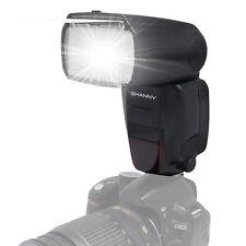 Shanny SN600SC HSS 1/8000S GN62 Master Flash E-TTL Flash Speedlite for Canon EOS