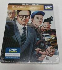 Kingsman: The Secret Service Blu-Ray Limited Edition Collectible Steelbook NEW