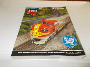 WALTHERS 2014 HO MODEL RAILROAD REFERENCE BOOK,BRAND NEW.