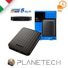 "PSP* HDD HARD DISK ESTERNO 1 TB USB 3.0 2,5"" MAXTOR AUTOALIMENTATO"