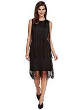 Sequin Sleeveless Dresses for Women with Fringe