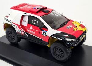 Luppa 1/43 Scale Peugeot 2008 DKR+ #328 2016 Dakar Rally Dumas Diecast Model Car
