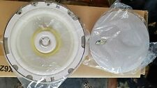 "Crossfire NOS 6.5"" 2-Way Platinum Round Marine Speakers Stainless White Pr. 120W"