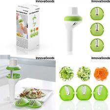 V0100713 cortador de vegetal espiral 3 in 1 Innovagoods