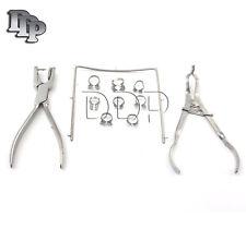 Starter Rubber Dam Kit Of 11 Dental Surgical Instruments Dn 2137