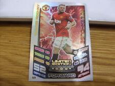 Match Attax Limited Edition Card-Wayne Rooney-Manchester Utd-2012/2013 Season