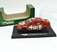 Model Car Alfa Romeo 155 DTM Top Model Scale 1/43 diecast vehicles Alesi