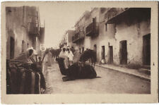 Original vintage 1920s North Africa dans un village de Sud, R. PROUHO