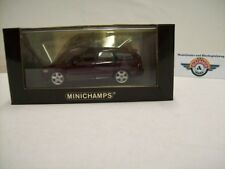 Volvo V50 kombi, 2004, dark red metallic, Minichamps 1:43, OVP