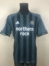 NEWCASTLE 2005/2006 AWAY FOOTBALL SOCCER JERSEY SHIRT ADIDAS ADULT SIZE L