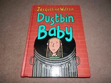 Jacqueline Wilson Dustbin Baby 1st edition hardback SIGNED