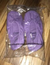 new in package - purple Knit Slippers by Dreams & Co.®  Size Medium