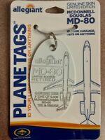McDonnell Douglas MD-80 Aircraft SkinPlane Tag / Planetags - Free Shipping