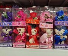 Teddy Bear Flower Gift Boxe
