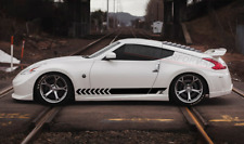 For Nissan 370Z Side Stripes Decals Body Kit Emblem Accessories Parts 2008-2020