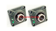 "1-1/2"" UCF208-24 4 Bolt Square Flange UCF208 Block Bearing  (Qty 2 pieces)"